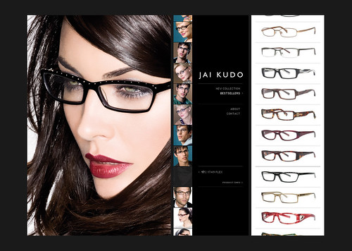 complete Line of Jai Kudo Eyeglasses collection.