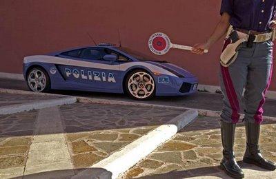 Italian Police Car 1