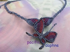 Mariposa de Macrame (pacificdaphne) Tags: colombia handmade macrame makrame artesania caribe hechoamano macram   caminomojosmayo