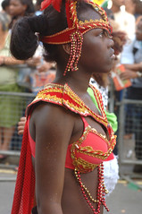 DSC_2524 Notting Hill Caribbean Carnival Costume Lady Performer 29 Aug 2005 (photographer695) Tags: 2005 carnival girls lady costume hill barbados caribbean 29 aug performer nottinghill notting