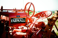 sweet ride (Esther17) Tags: utata hereford allrightsreserved farmall 55200mmf456g notmytractor decluttr 2011estheriperezphotography althoughikindawishitwas f64g34r2win