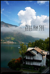 Zell Am See 2007 (Hamad Al-meer) Tags: blue sky cloud house lake color tree green nature landscape austria see am land hd scape zellamsee hamad  zell      almeer mywinners    kuwaitvoluntaryworkcenter  hamadhd hamadhdcom  wwwhamadhdcom