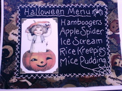 halloween menu stitchery (shebrews) Tags: embroidery halloweenstitchery jackpumpkin