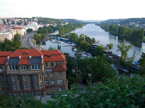 Vltava River, Prague por Uncle Buddha.