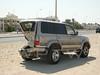 Something's Missing... (WanderWorks) Tags: car crash toyota land cruiser qatar