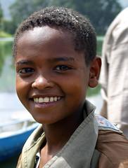 Ethiopian Boy Smiling
