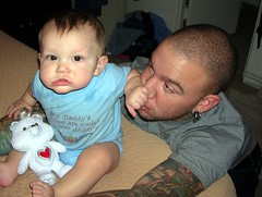 Randy and Aiden - nose