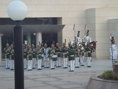 brass band (tango 48) Tags: pictures life street pakistan people monument colors saturday national everyday everydaylife nationalmonument islamabad trooping shakarparian troopingcolors
