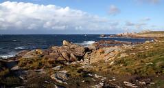 (Magali Deval) Tags: ocean sea mer france coast rocks shoreline bretagne breizh cote melon rochers