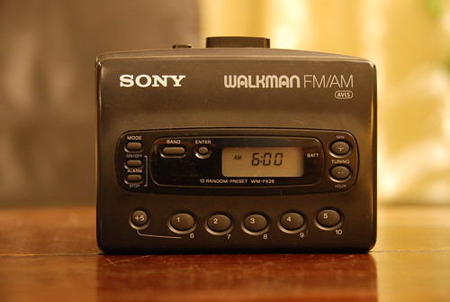 Walkman sony Cassette black