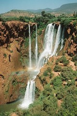 Cascades d'Ouzoud waterfall in Morocco (chris.bryant) Tags: trees summer sun nature water wow river landscape waterfall day afternoon morocco flowing height top20waterpix gmt potofgold movingwater cascadesdouzoud blueribbonwinner impressedbeauty amazingamateur toisndeoro