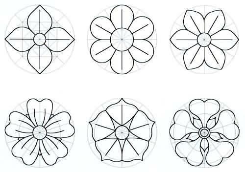 Moldes de flor para pintar…. « .::Vini e Kika.::.Blog Arte e ...