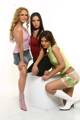 Wendy Braga, Ivette y Romina