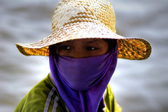 Portrait of a Girl (Su Inc) Tags: travel portrait lake girl river photography boat asia cambodia cambodian khmer village child m