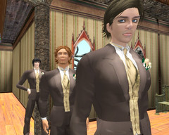 The fellas (Tragix Wilder) Tags: wedding 3d secondlife