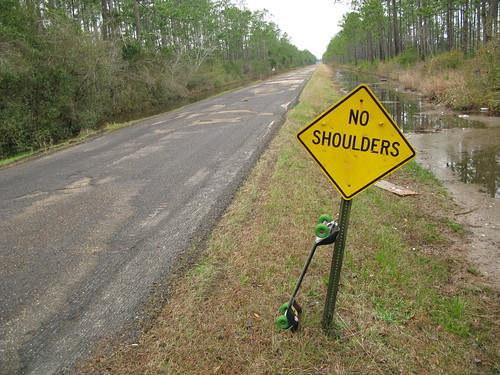 Argh! Bad roads in Mississippi, USA