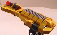 Another side shot (dascuminator) Tags: lego micro foitsop yellowalliance