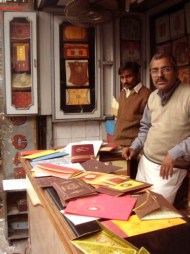 Card Street of Chawri Bazaar A street dedicated to wedding cards