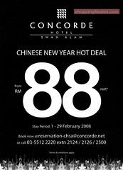 20080128 Concorde CNY Hot Deal