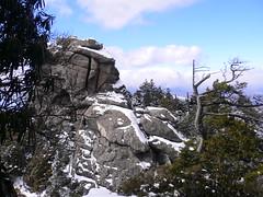 瑞牆山大ヤスリ岩
