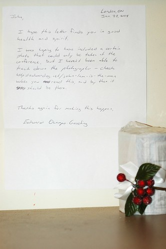 Letter from Edward Ocampo-Gooding