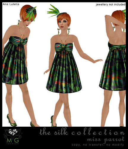 [MG fashion] The Silk Collection 5 - Miss Parrot