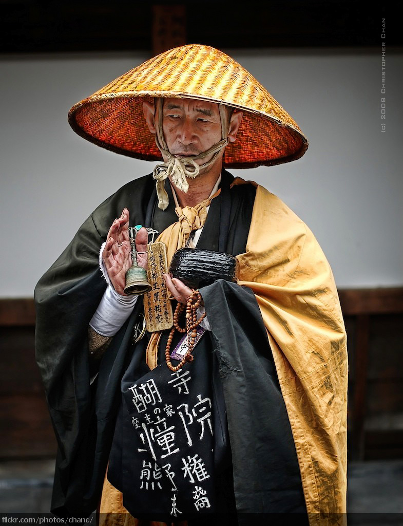 Japanese monk © Christopher Chani