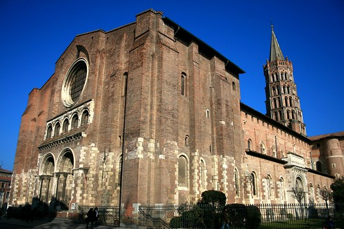 St. Sernin Cathedral Toulouse France Romanesque Architecture