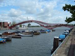 Borneo - Amsterdam (Fabio Garzaro) Tags: holland amsterdam river boat casa barca fiume barche case ponte borneo olanda quartiere garzaro fabiogarzaro