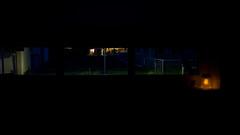 .Firefly. (doozzle) Tags: blue orange cold green grass night dark warm glow noflash utata cinematic frommywindow 169 utata:project=nocturnal2 suninjar