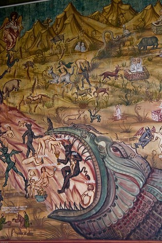 Reply to The Devil Iconography in the Eastern Orthodox versus Western catholic frescos