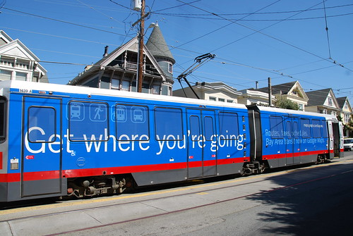 Google Transit Ad
