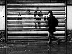 All Dressed Up But Nowhere To Go (an untrained eye) Tags: england topf25 topv111 manchester topv555 topv333 candid topv999 streetphotography gritty topv222 topv777 bandw northern anuntrainedeye fds24hdrkaranka