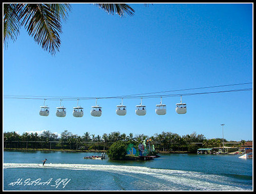 Seaworld: The Cable Cars