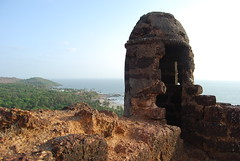 ruins of vaghator fort (pallav moitra) Tags: beach fort goa panjim baghator