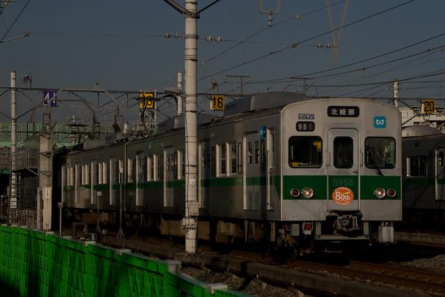 東京メトロ5000系 綾瀬支線