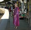 On the Railway Station (mallorcarain) Tags: boots vinyl rainwear pvc regenmantel impermeables