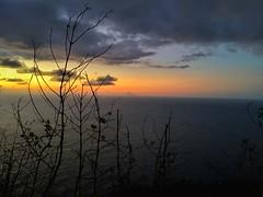 Stromboli sul mare!! (giuseppespanò) Tags: iphone cloud landscape water sky sunset sun ocean mare stromboli vulcano volcano calabria