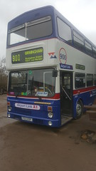 Front end... (WMT6832TWM3053) Tags: west midlands travel wmt coventry 900 3053 mcw metrobus mk2a birmingham preserved bus