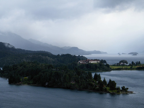 Llao Llao Penninsula and Lago Moreno from Punto Panorámico by katiealley on Flickr