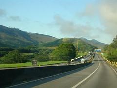 BR116 between Rio de Janeiro and São Paulo