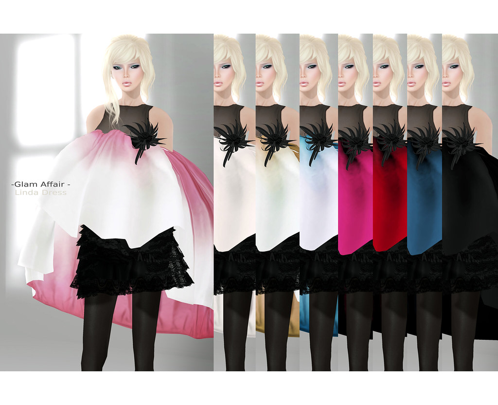 -Glam Affair- Linda dress - all colors