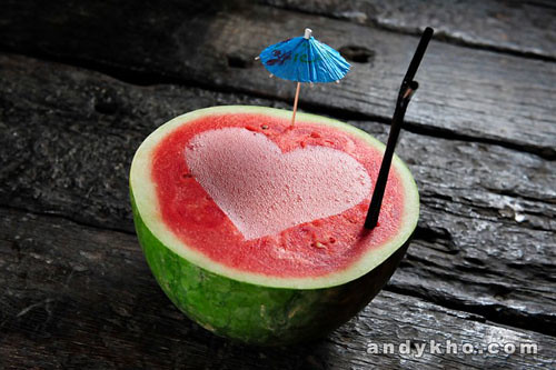 023 Watermelon Slush (vodka + lychee liqueur + watermelon) RM40
