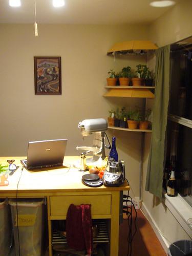 Finished Herb Garden, Lights Off