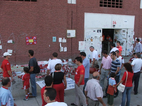 Puerta 16, Estadio Ramón Sánchez Pizjuán