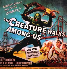 the creature walks among us (by senses working overtime)