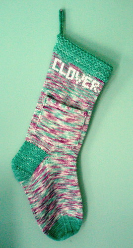 Clover's Stocking