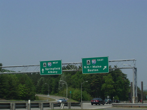 Interstate 84 (Eastern Segment) Eastern Terminus