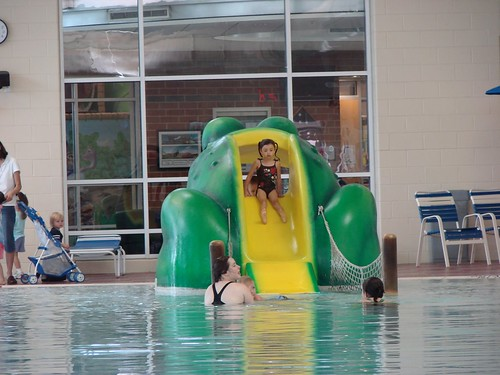 Vandalia Rec Center pool Slide for