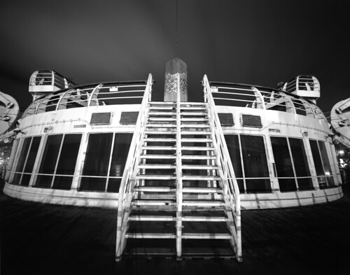 Sundeck Staircase, SS Independence (LF)